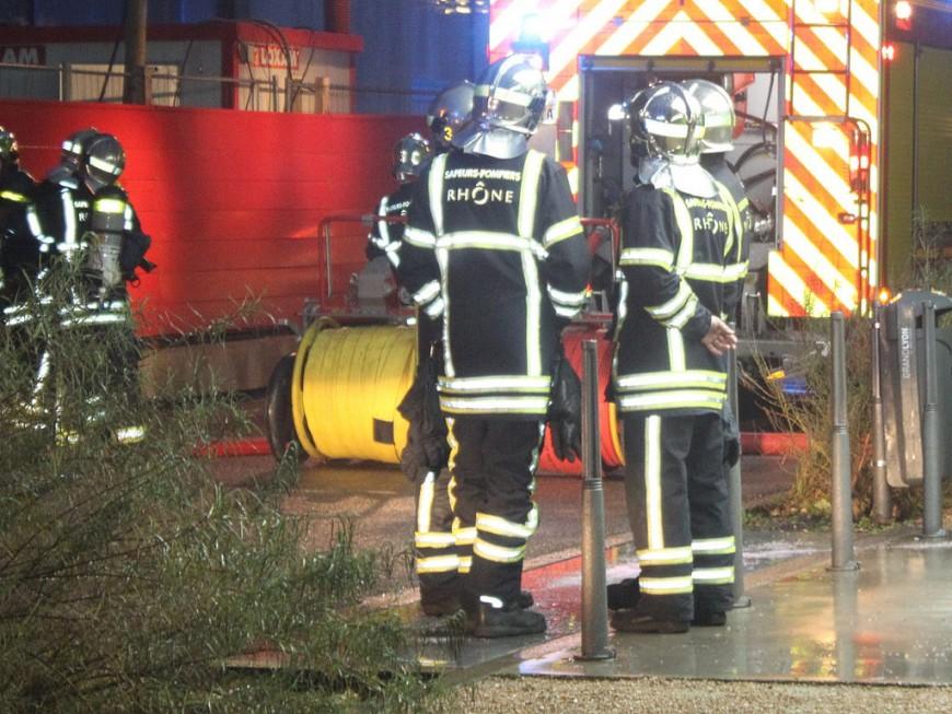 Lyon : un parking sous-terrain victime des flammes
