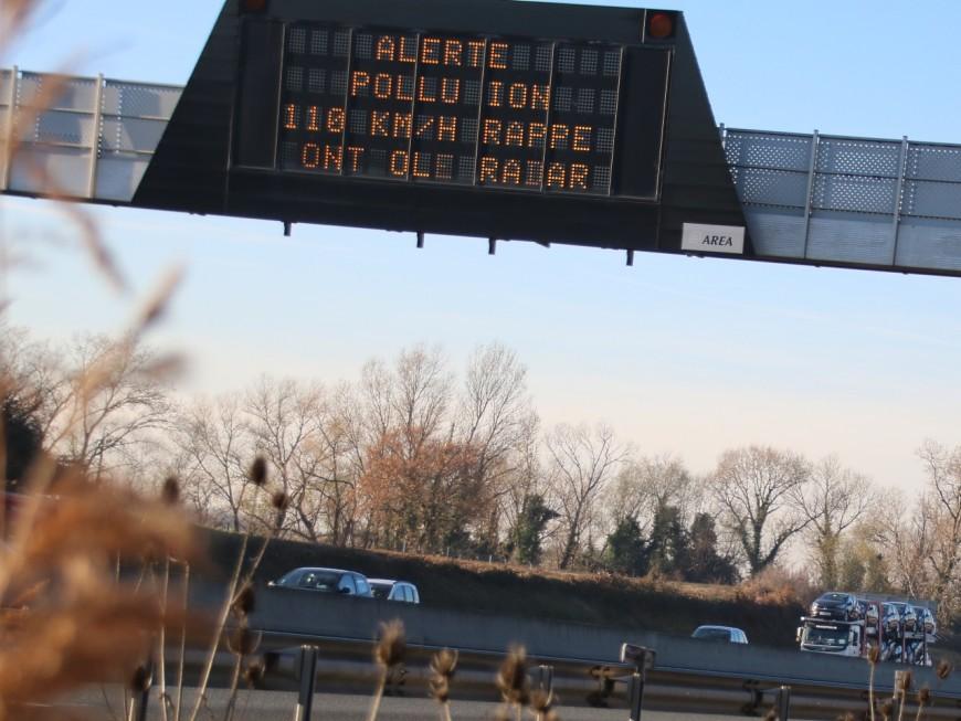 Retour de l'alerte pollution à Lyon