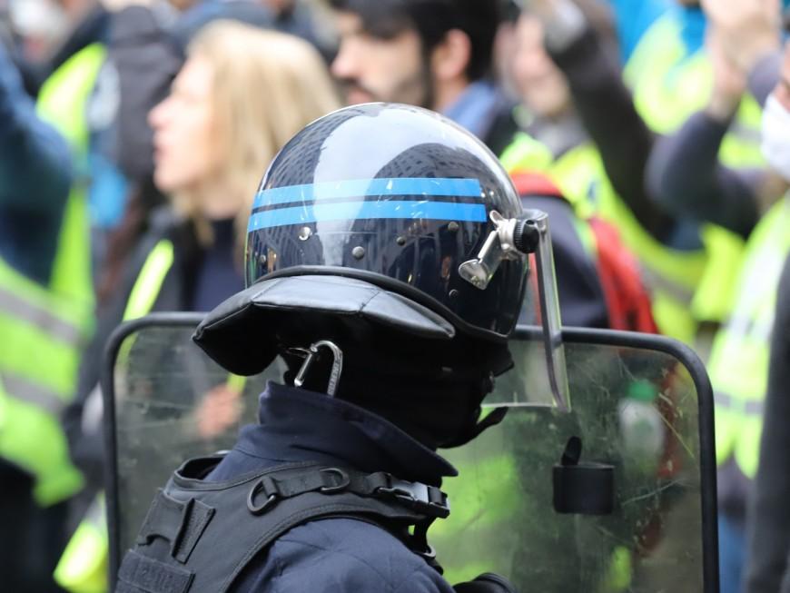 Lyon : petite mobilisation pour les gilets jaunes malgré la piétonnisation