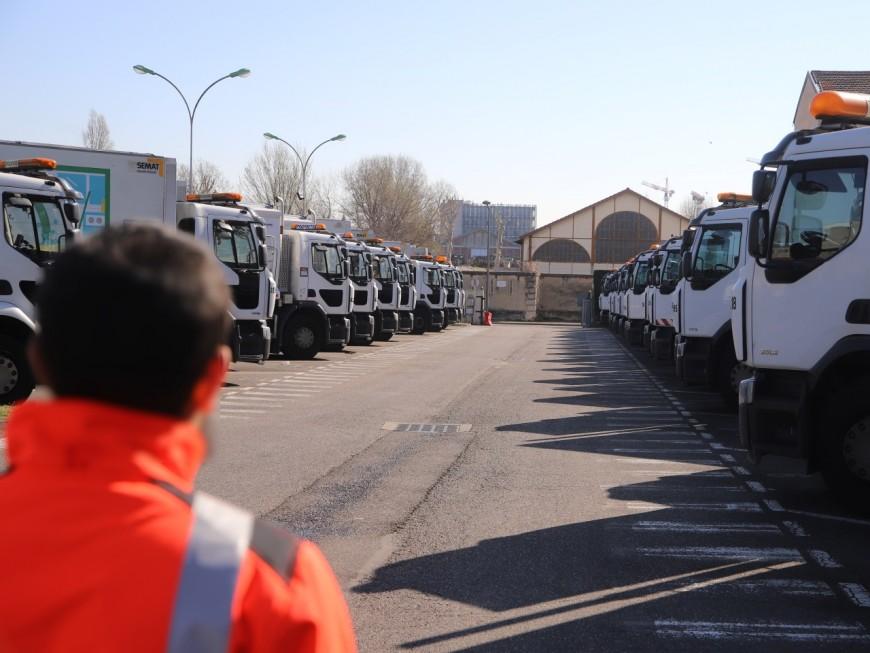 Aucune collecte des déchets dans la Métropole de Lyon le 1er mai et le 8 mai