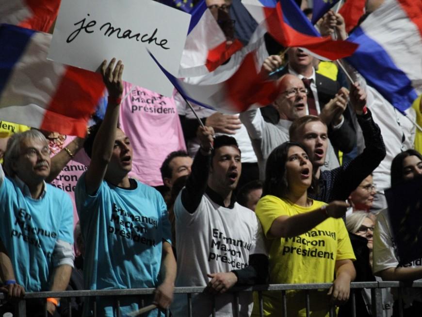 Grand rassemblement pour les Marcheurs à Lyon