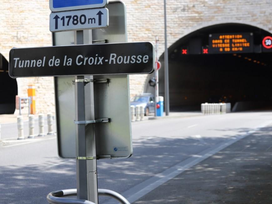 Lyon : le tunnel de la Croix-Rousse sera fermé lundi et mardi soir