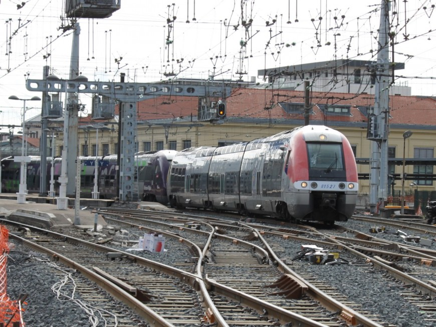SNCF : de nouveaux aiguillages pour la gare de Saint-Germain-au-Mont-d'Or