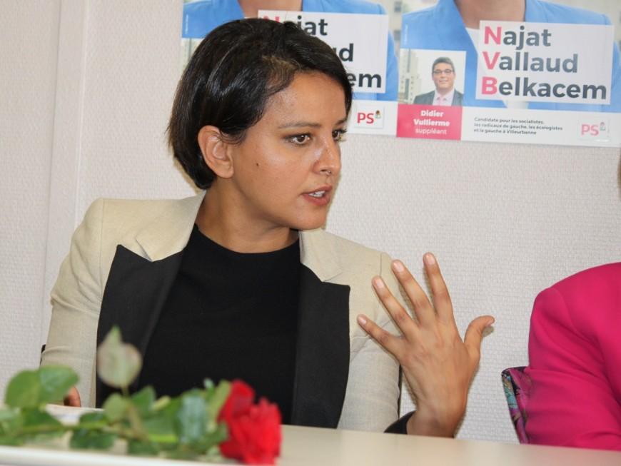 "Législatives : ""rien n'est joué, je l'emporterai"", promet Najat Vallaud-Belkacem"