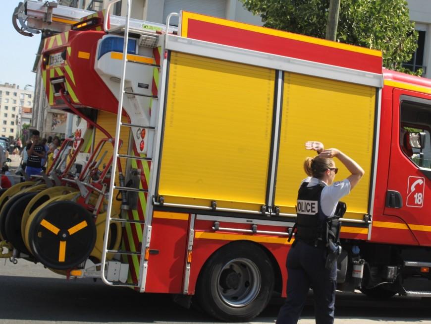 Lyon : un appartement ravagé par les flammes dans le 8e arrondissement