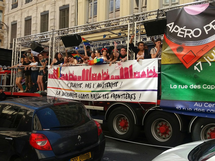 La gay-pride 2018 passera finalement par le Vieux Lyon !