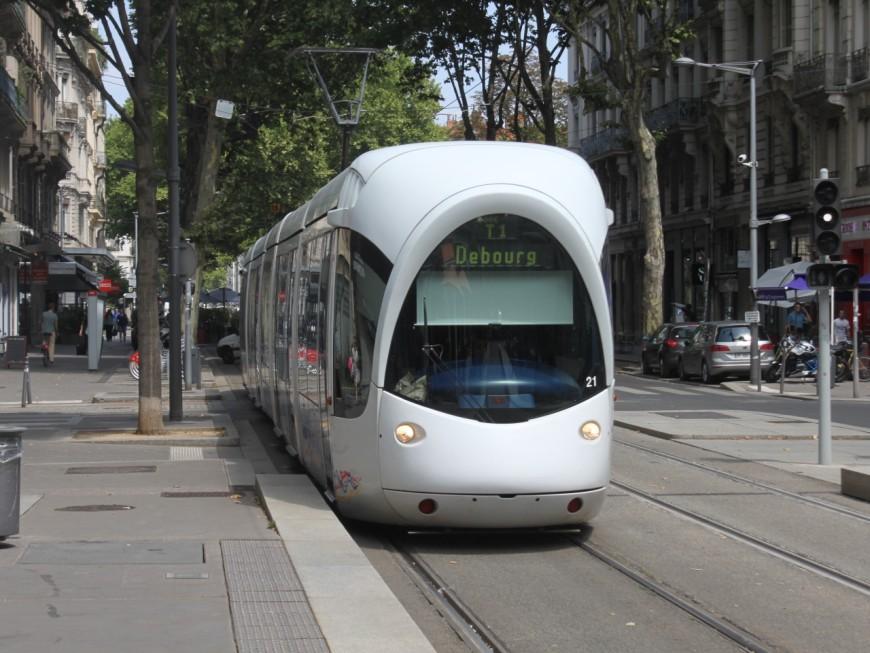 Lyon : le tramway T1 perturbé jusqu'à vendredi matin !