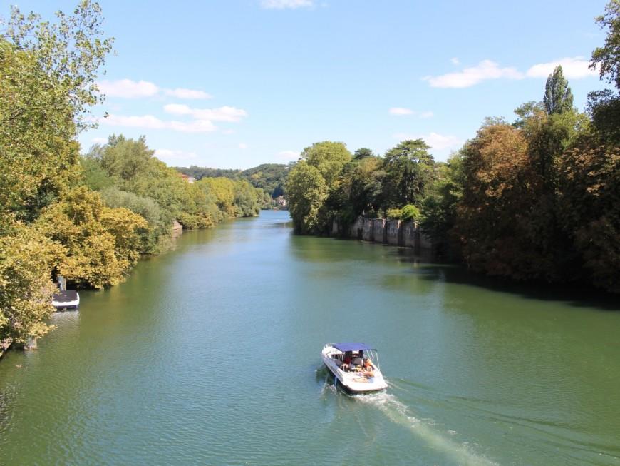 Une collision et un délit de fuite entre bateaux sur la Saône