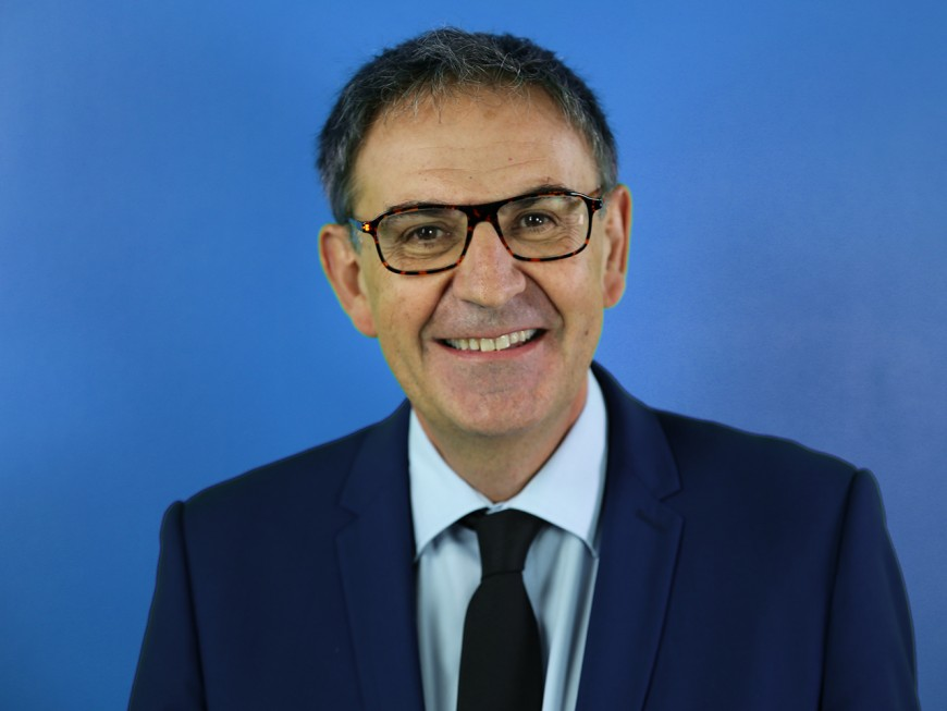 """David Kimelfeld, président de la Métropole de Lyon : """"Cette Métropole doit rester très attractive"""""""