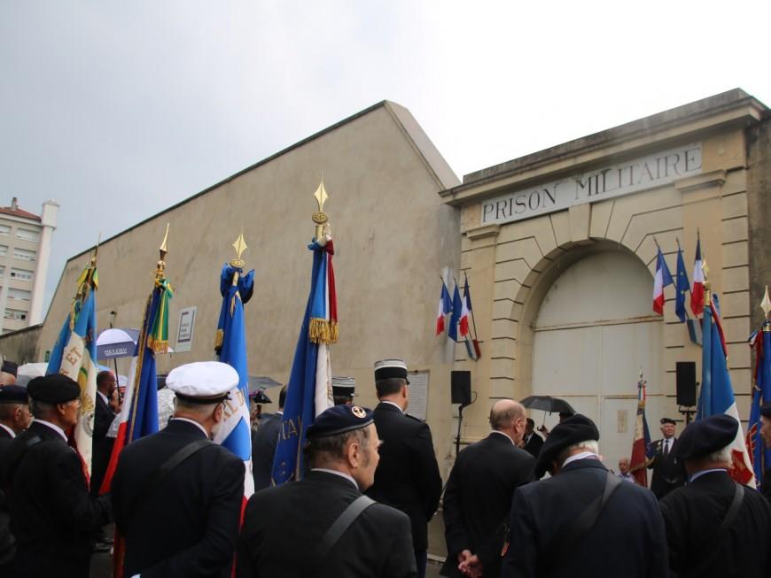 Peu après la profanation de la stèle d'Izieu, la libération de Montluc est célébrée