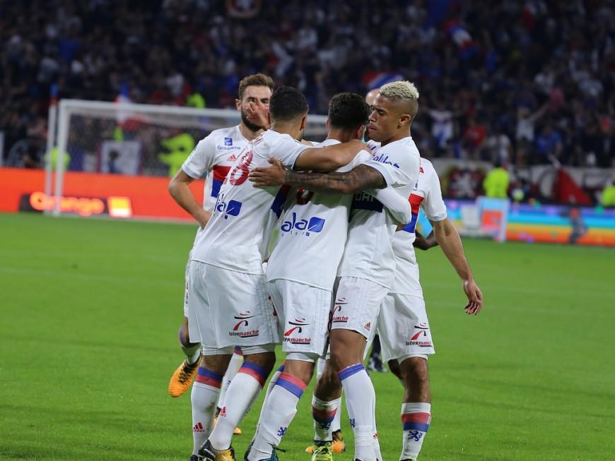 OL : Les Lyonnais se hissent sur le podium face à Metz (2-0) - VIDEO