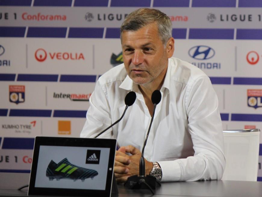 Bruno Génésio fait le point sur le mercato de l'OL