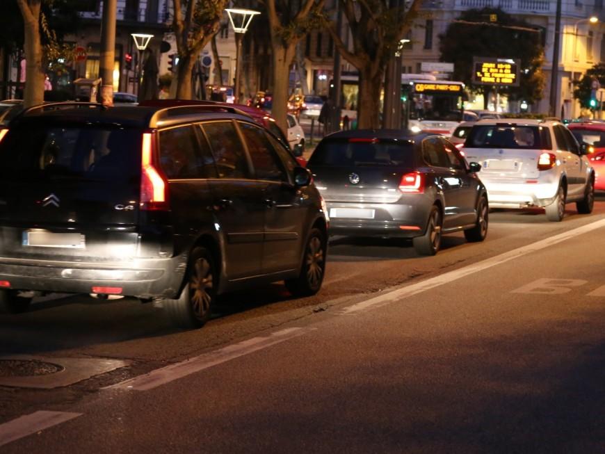 Temps perdu dans les embouteillages : la situation s'aggrave à Lyon