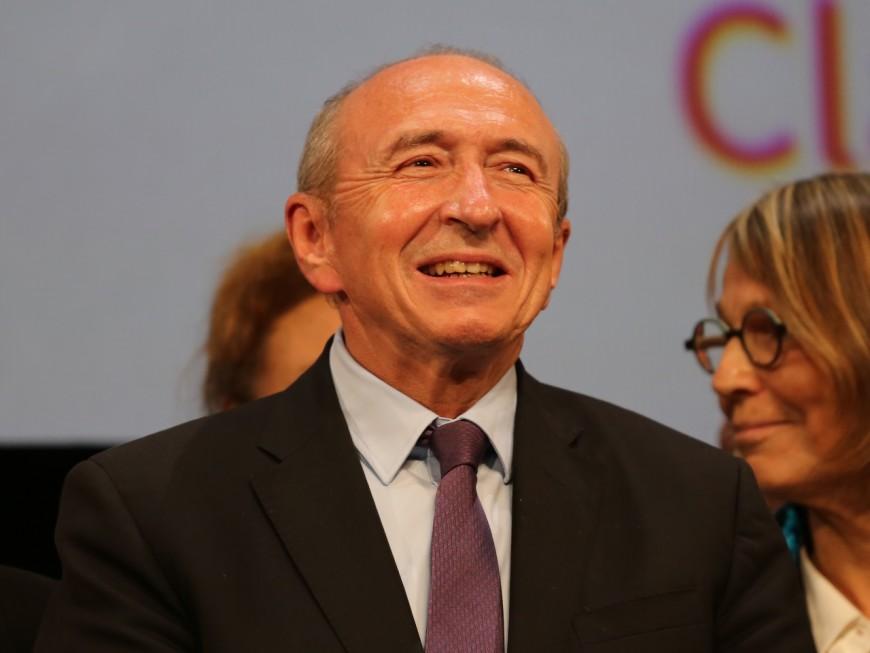 Sondage : Gérard Collomb gagne en popularité... sauf chez LREM