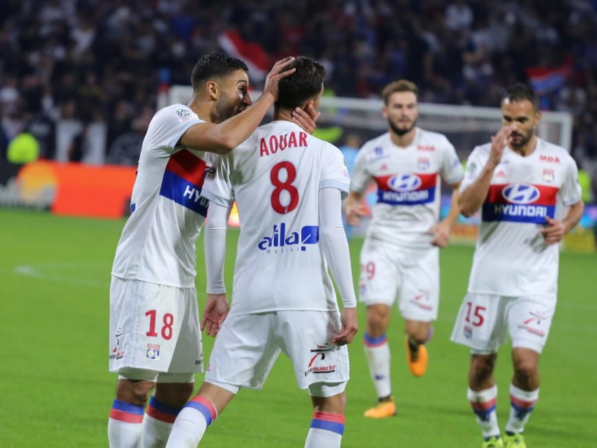 Amiens-OL : Houssem Aouar, ce héros (1-2) - VIDEO