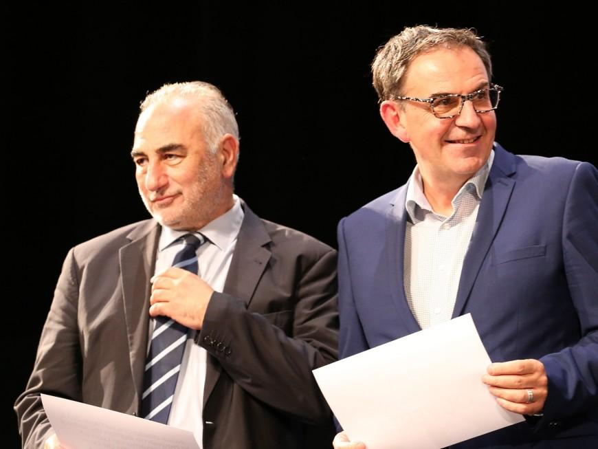 Georges Képénékian et David Kimelfeld toujours inconnus des Lyonnais ? – VIDEO
