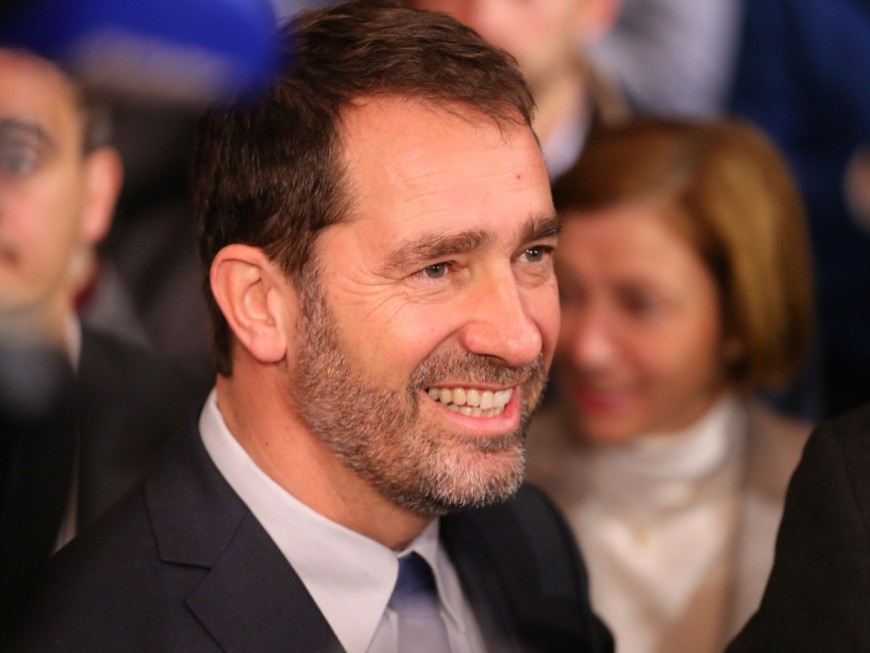 Christophe Castaner en déplacement dans le Rhône vendredi
