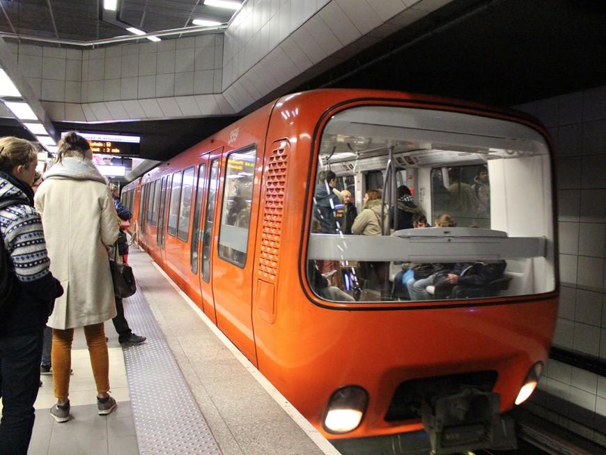 La grève des métros limitée ce lundi