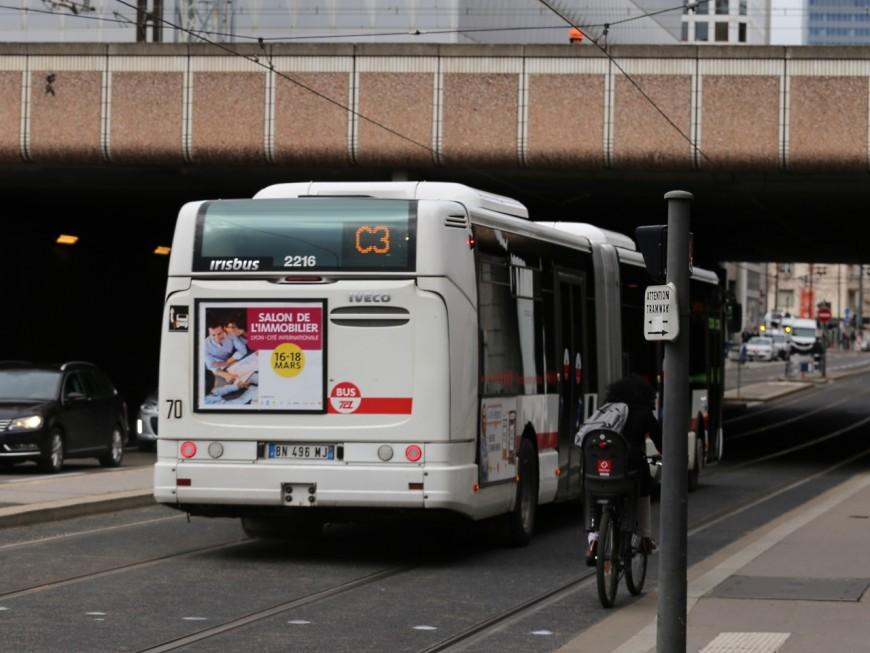 Travaux d'été à Hôtel de ville : TCL adapte le parcours des lignes de bus