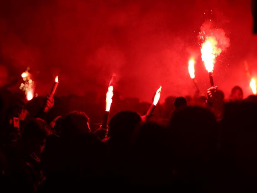 ASSE-OL: malgré le couvre-feu, un arrêté préfectoral pour interdire les supporters lyonnais à Saint-Etienne