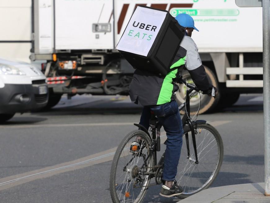 Villeurbanne : les livreurs Uber Eats font grève ce samedi