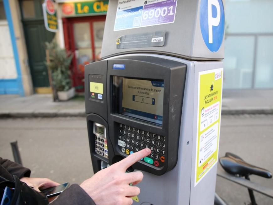 Lyon : le stationnement restera payant durant le confinement