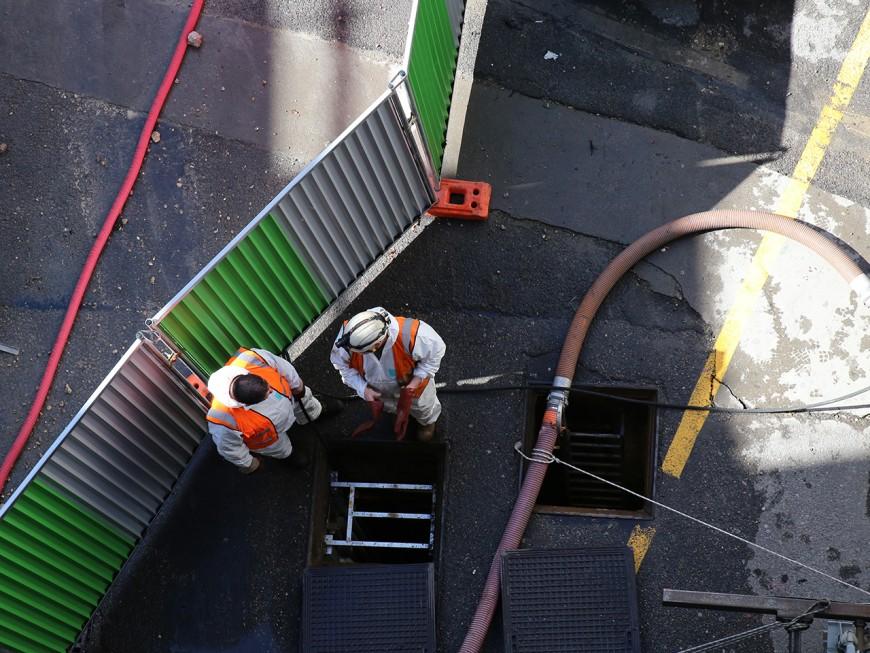Bagarre entre ouvriers sur un chantier de Bron