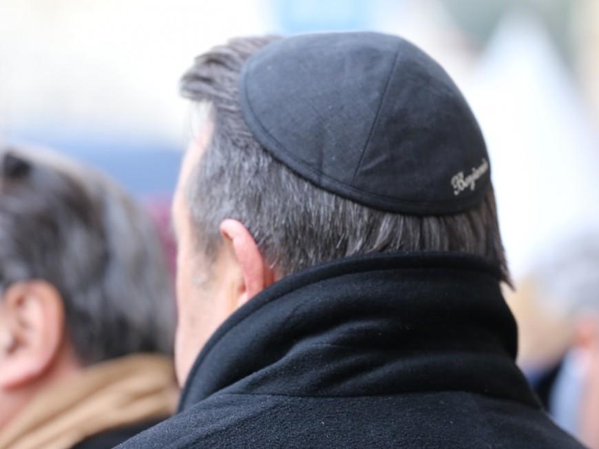 Lyon : 2000 personnes rassemblées contre l'antisémitisme