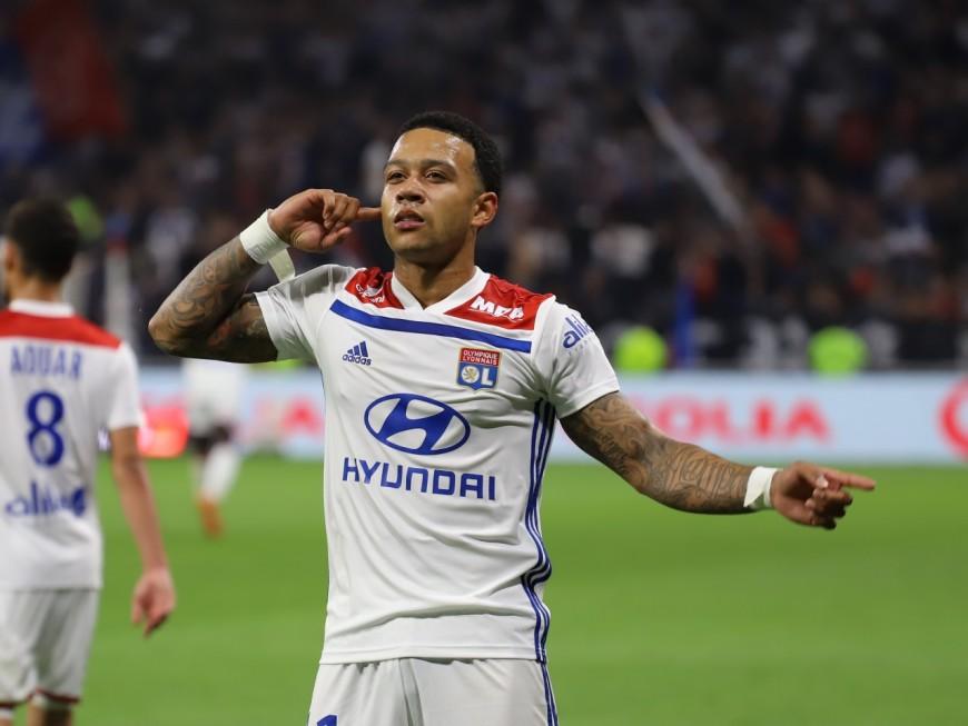 Toulouse-OL : Memphis Depay sauve Lyon sur le fil (2-3) - VIDEO