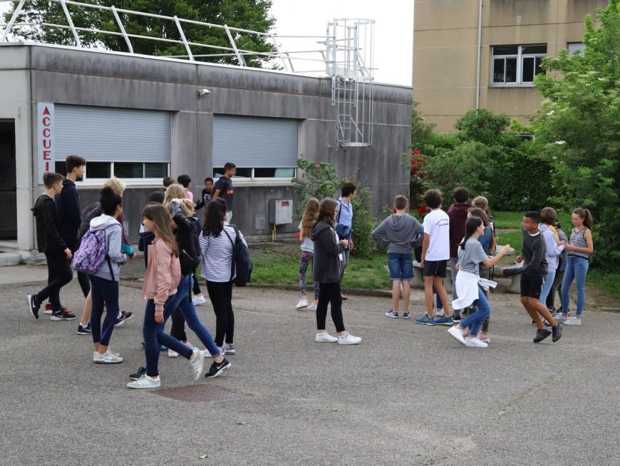 Canicule : le SNUDI - FO veut faire fermer les écoles lyonnaises