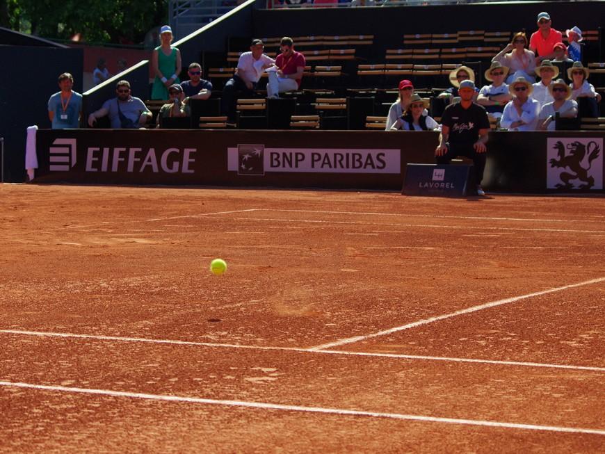 Open Parc d'Auvergne-Rhône-Alpes : Gilles Simon qualifié pour les demi-finales