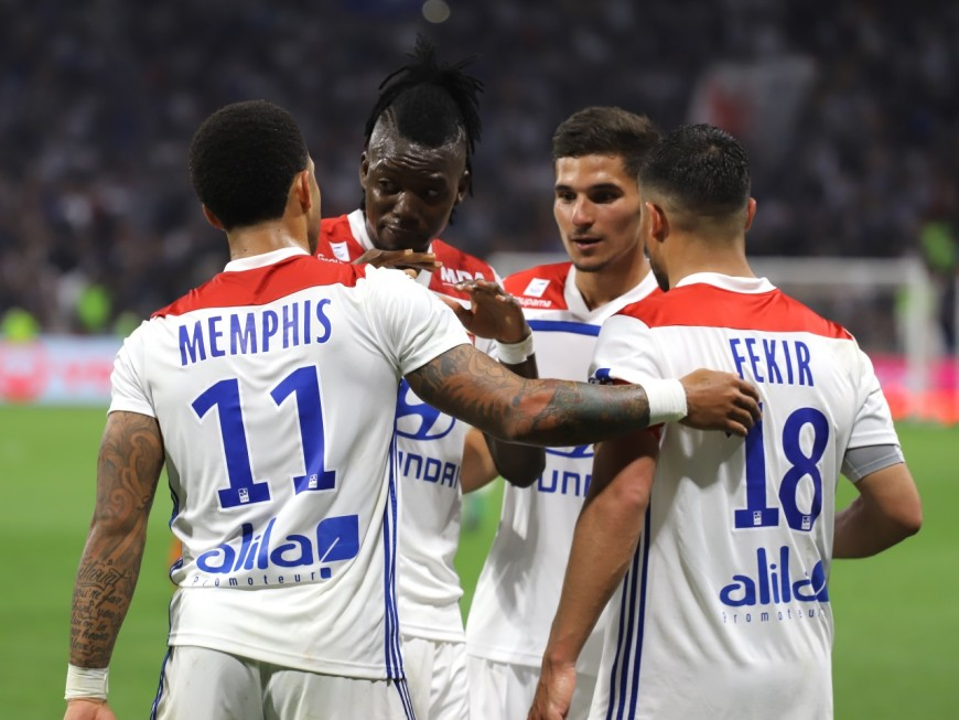 Lyon déroule face à une pauvre équipe de Monaco (3-0) - VIDEO