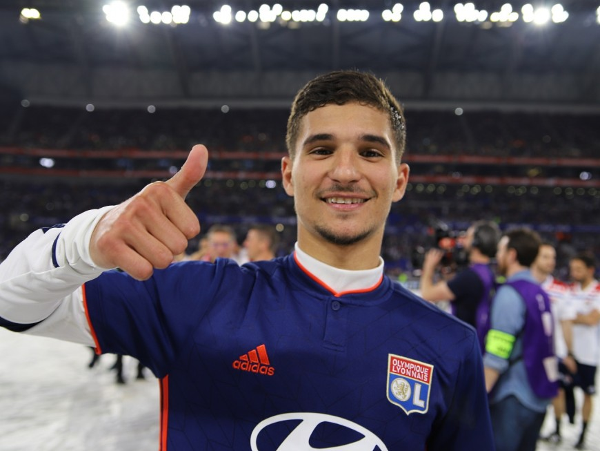 OL : Houssem Aouar de retour, mais Manchester City pourrait se lancer