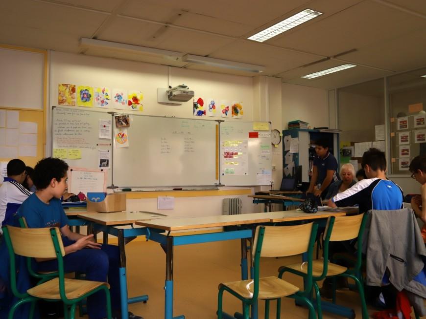 Les élèves de Lyon pourront s'auto-confiner jeudi et vendredi