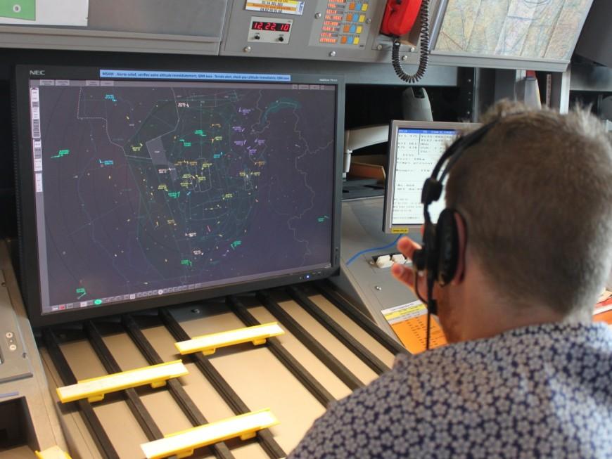 Se croyant au-dessus de Grenoble, un pilote allemand rend fou les contrôleurs aériens lyonnais