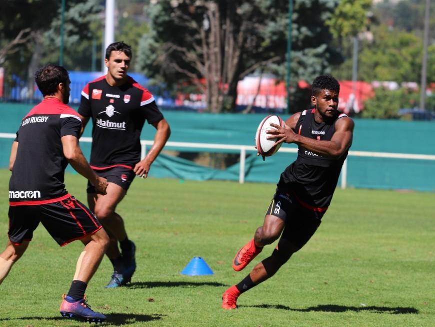Lyon: rentrée des classes pour le LOU Rugby face au Racing