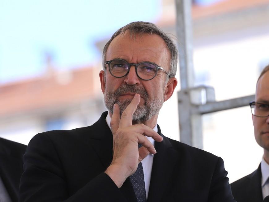 Étienne Blanc s'apprête à quitter Divonne pour se diriger vers Lyon