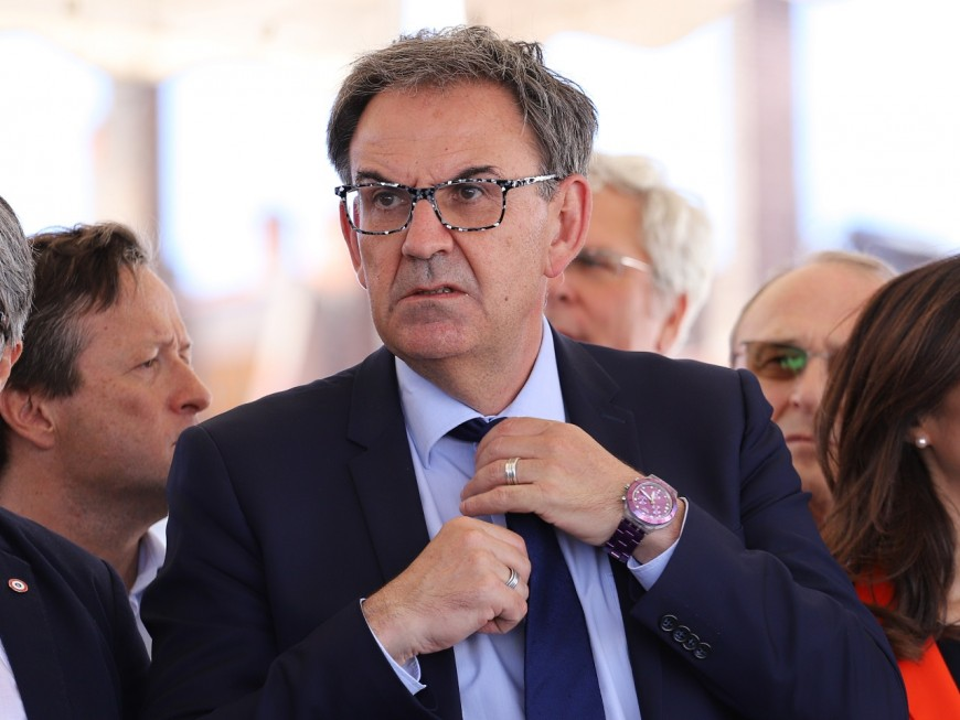 """David Kimelfeld prévient Gérard Collomb : """"Cette Métropole de Lyon fonctionne, elle est managée, gouvernée"""""""