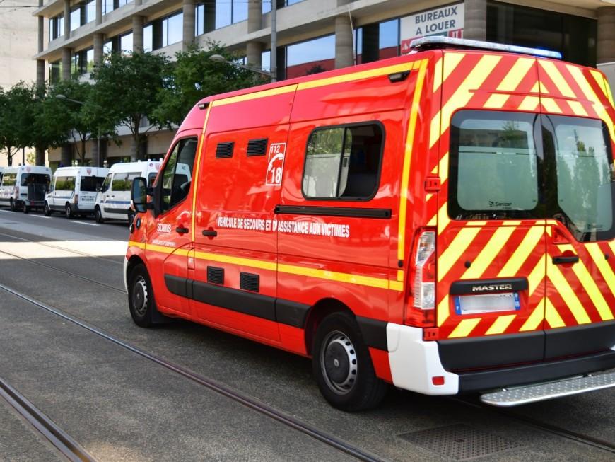Lyon : un accident de la route à la Part-Dieu, quatre blessés légers