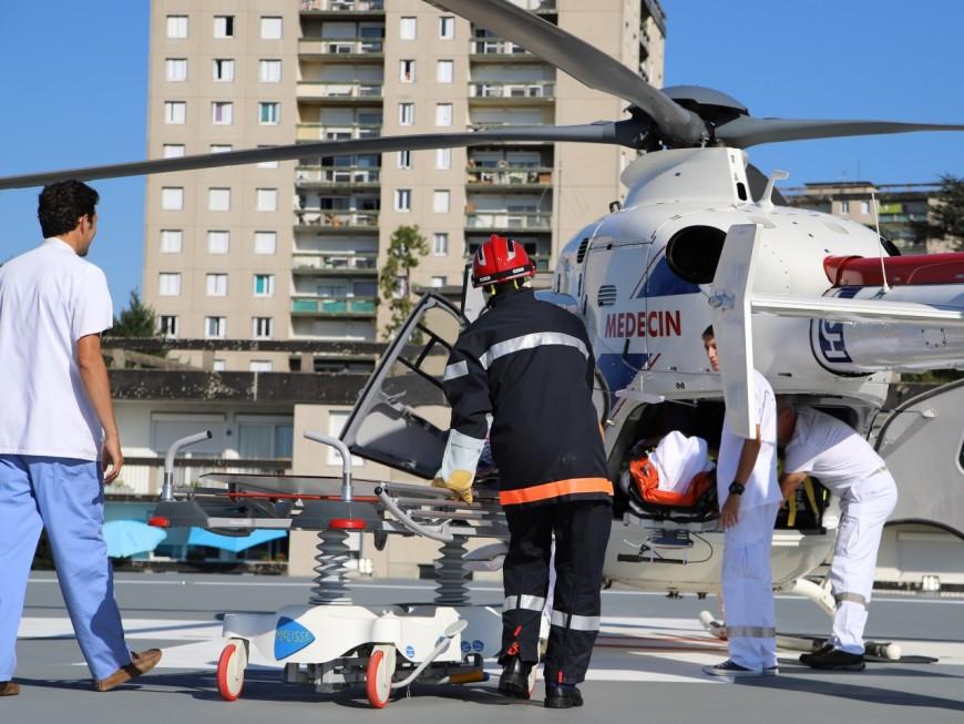 Rhône : un terrible accident de la route fait cinq blessés dont deux enfants