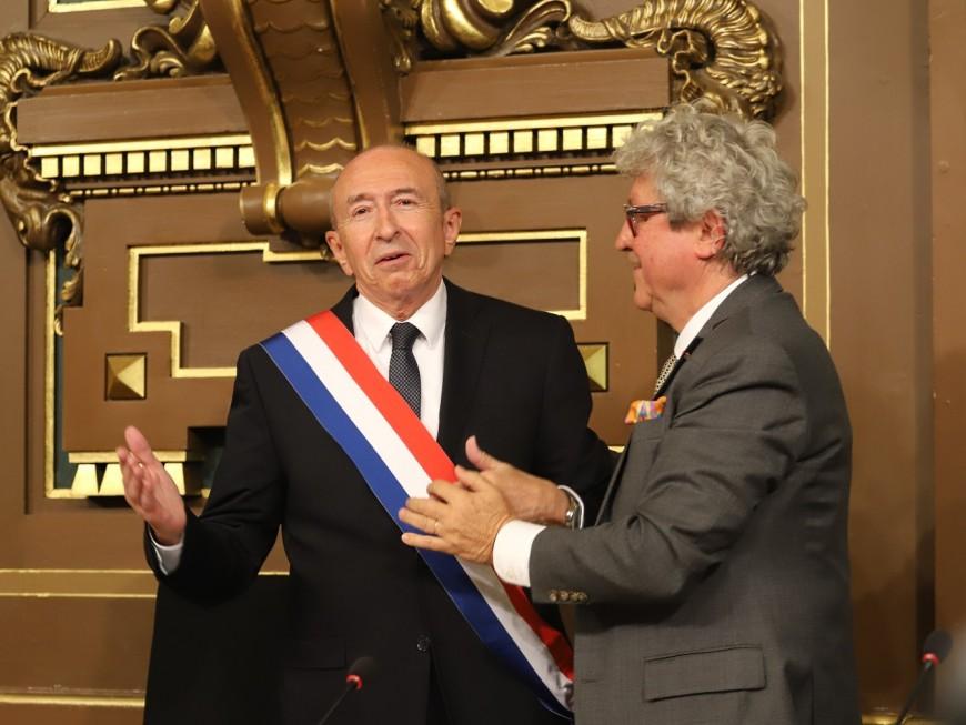 Lyon : doyen du conseil municipal, Gérard Collomb devra remettre l'écharpe de maire à Grégory Doucet !