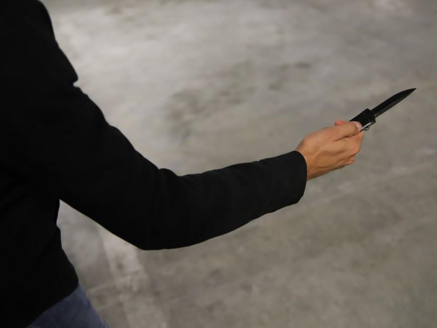 Près de Lyon : il menace de se suicider avec un couteau dans les rayons d'Auchan