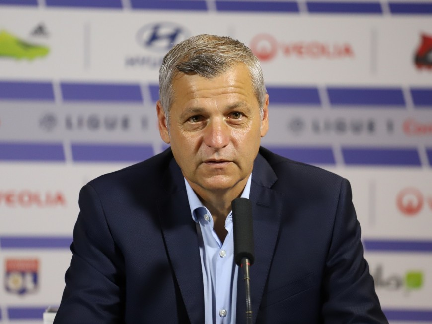 Bruno Genesio quittera l'Olympique Lyonnais à la fin de la saison