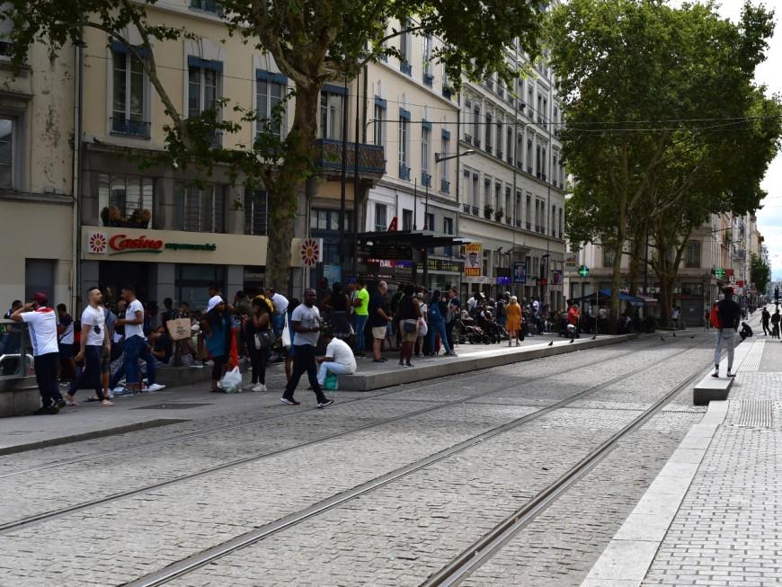 Lyon : une centaine de personnes belliqueuses à la Guillotière après une bagarre