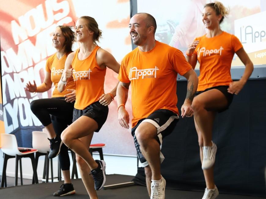 A Lyon, l'Appart Fitness sort les muscles