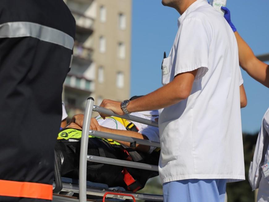 Rhône : une passante blessée par une balle perdue