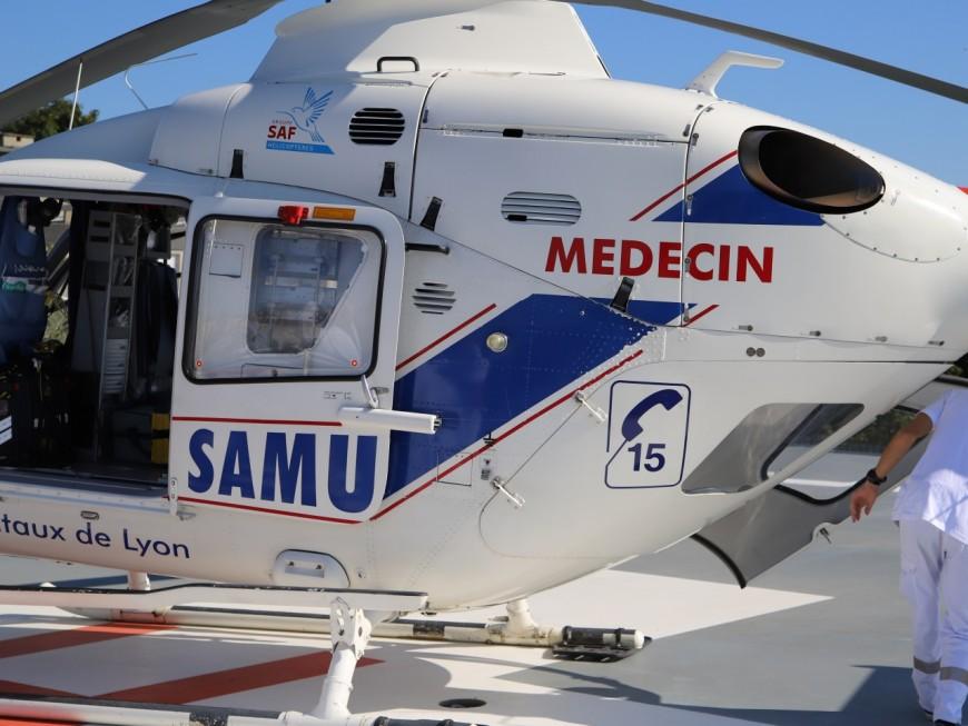 Près de Lyon : trois personnes légèrement blessées dans un accident sur l'A46