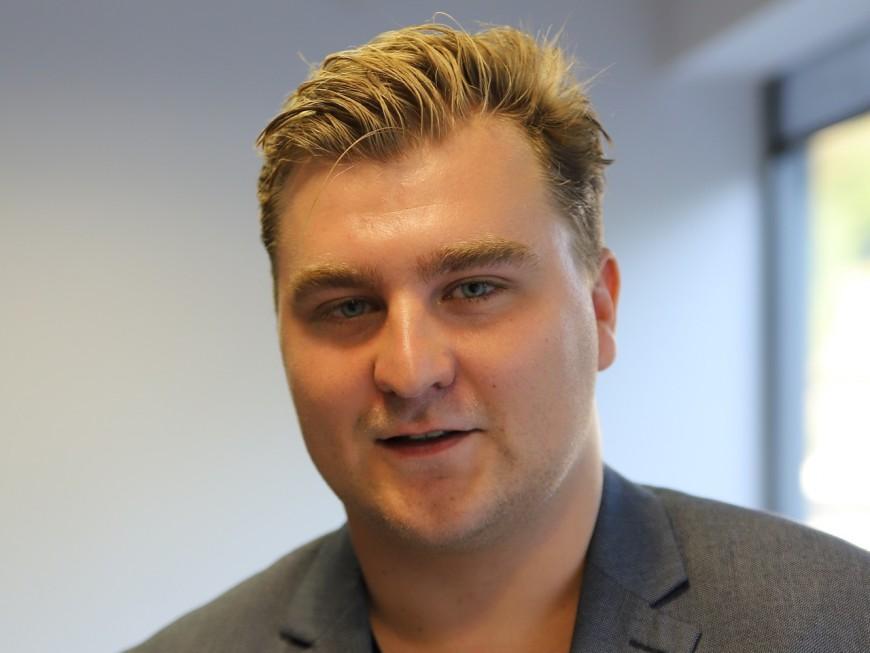 """Municipales 2020 : Elliott Aubin (FI) veut s'opposer au """"laxiste et menteur"""" Gérard Collomb"""