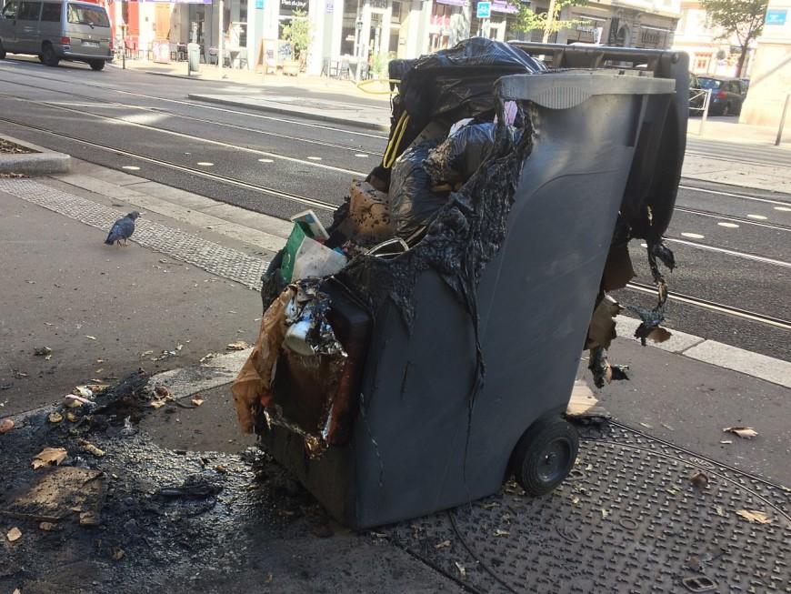 Vénissieux : en plein confinement, le trentenaire incendiait des poubelles