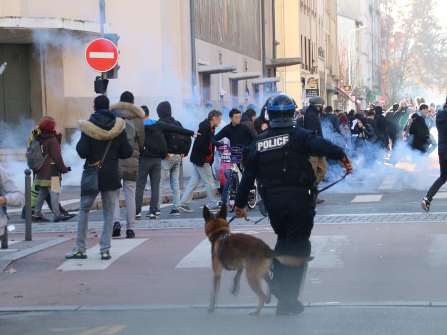 Lyon : un lycéen interpellé après les violences lors d'un blocage